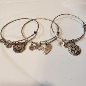 ALEX AND ANI lot of 3 bracelets